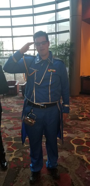 Major Hughes from Full Metal Alchemist